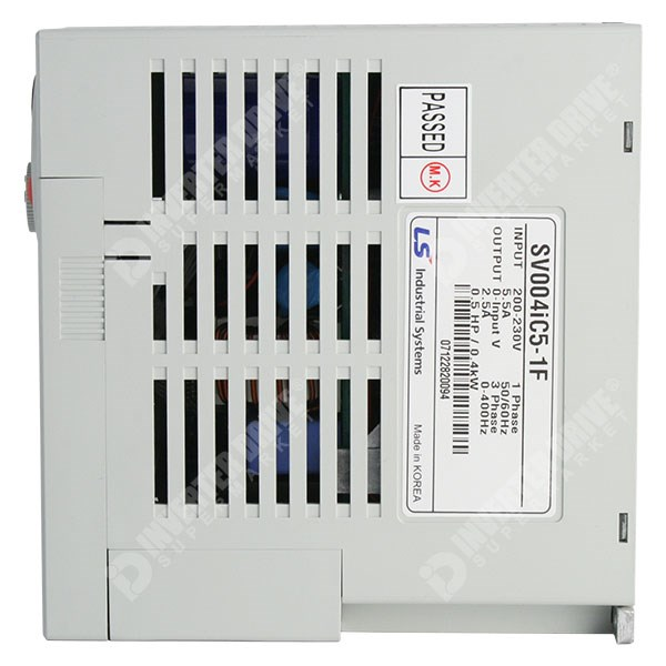 Photo of LS Starvert iC5 0.75kW 230V 1ph to 3ph AC Inverter Drive